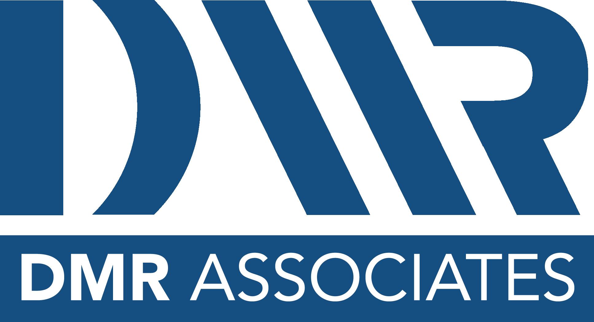 DMR logo stacked blue